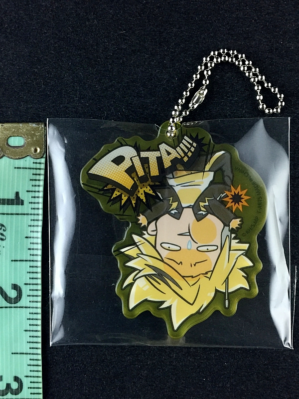 Rubber Key Chain My Hero Academia Denki Kaminari Pita!!!